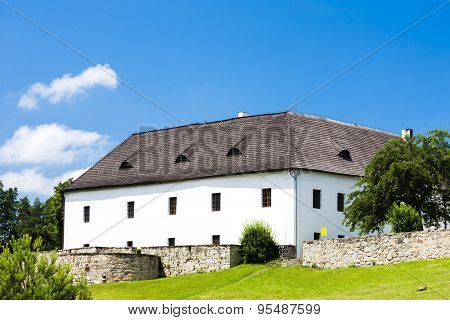 stronghold of Zumberk, Czech Republic