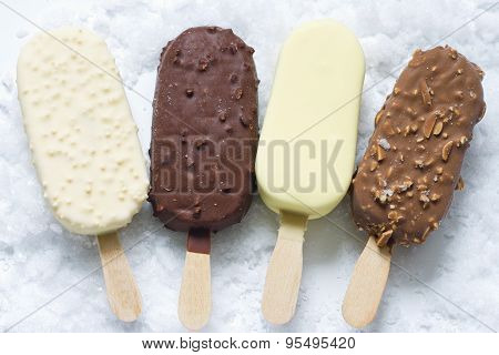Ice cream on stick