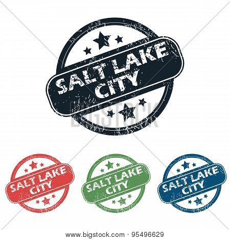 Salt Lake City stamp set