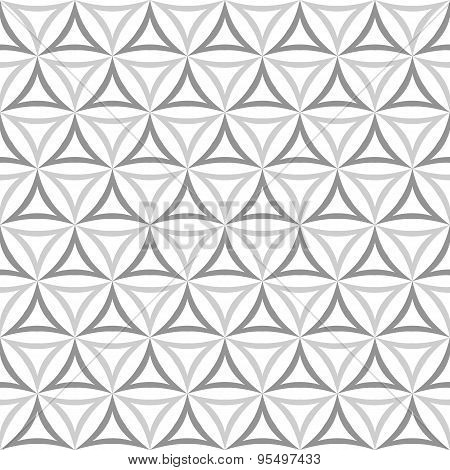 Vintage Noisy Textured Diagonal Wavy Striped Background. Seamless Pattern. Vector.