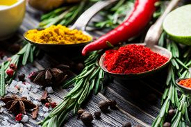 stock photo of flavor  - Spices - JPG
