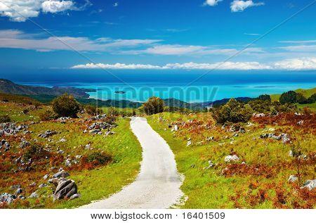 Coastal view, Abel Tasman National Park, New Zealand