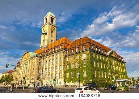 Building Of Berlin-spandau Town Hall (rathaus Spandau), Germany