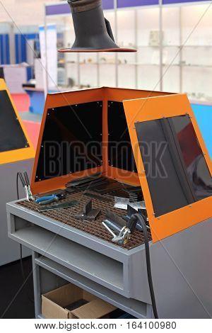 Welder Table Work Bench With Exhaust Ventilation