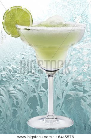 Margaritas with lime