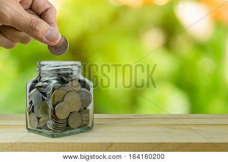 Savings plans financial concept, concept, money, business,
