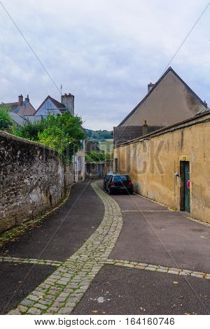 Typical Street In Autun
