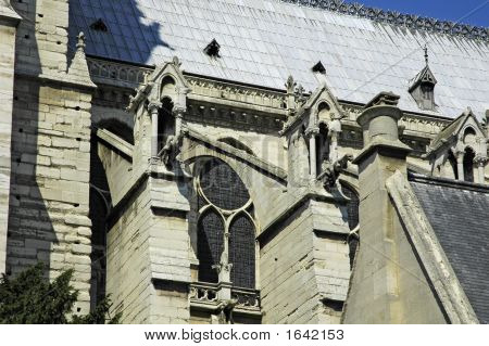 Notre Dame Side Wall