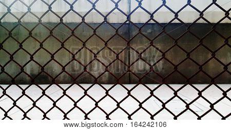 steel grating and door background photo stock