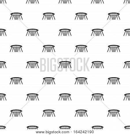 Fountain of wealth in Singapore pattern. Simple illustration of fountain of wealth in Singapore vector pattern for web