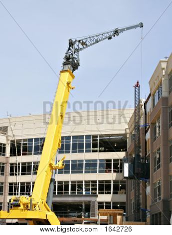 Commercial building under construction stock photo stock for Building under construction insurance