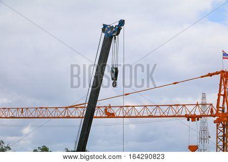 Crane Hook industry in Construction buildings .