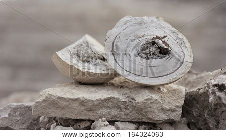 natural stone in natural conditions. mining and mineral ore