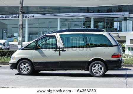 Old Toyota Previa Private Van