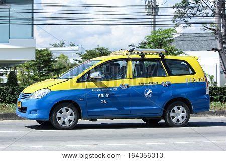 City Taxi Meter Chiangmai, Toyota Innova