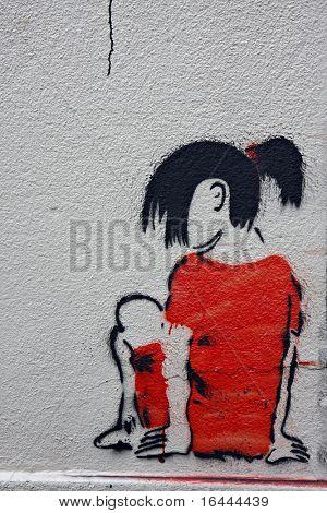 Streat Art Stencil