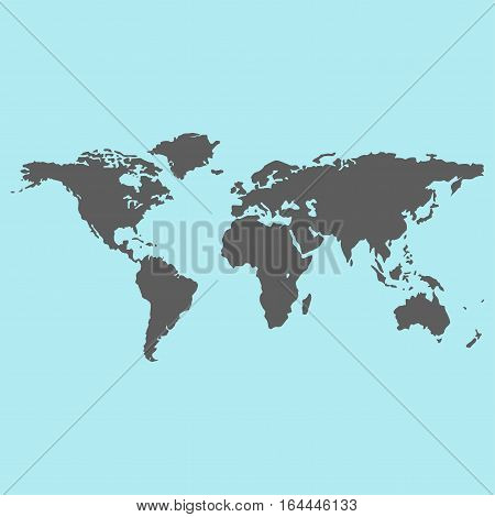 Globe earth icon planet map symbol vector illustration. Education toy and graphic sphere. Geography element tool continent application isolated.
