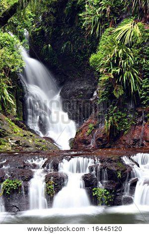 Waterfall at Lamington National Park