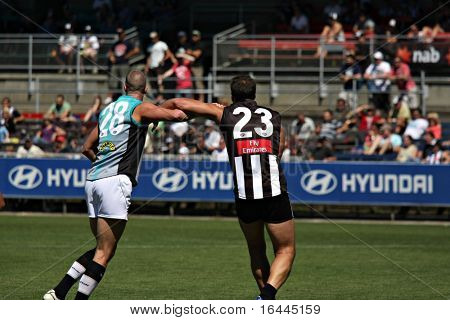AFL Football - Collingwood & Port Adelaide
