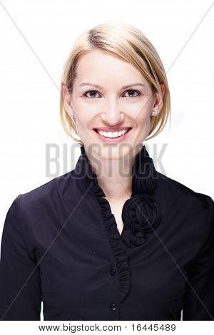 Porträt einer erfolgreichen Business-Frau