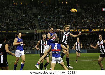 Collingwood vs Western Bulldogs, June 2008