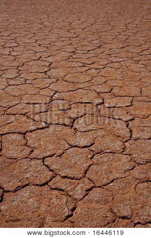 Dry Lake in Central Australia