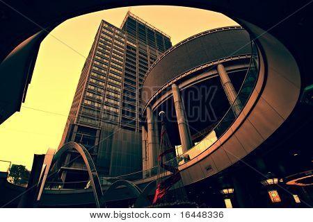 Modern Architecture in Osaka, Japan