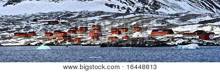 Esperanza Station in Antarctica