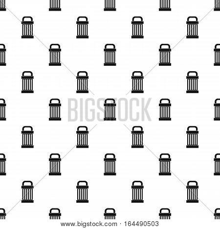 Trash pattern. Simple illustration of trash vector pattern for web