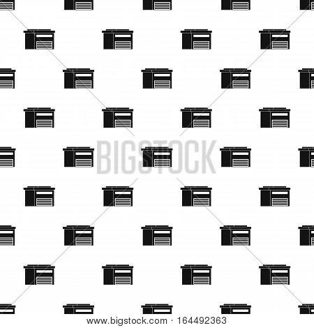 High barn pattern. Simple illustration of high barn vector pattern for web