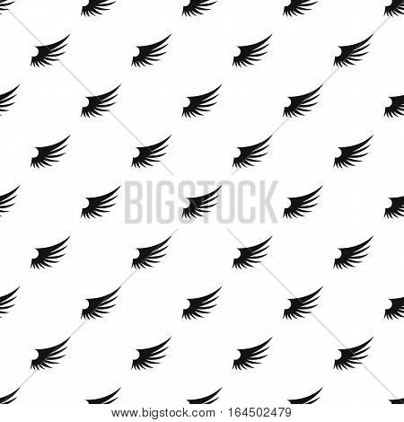 Birds wing pattern. Simple illustration of birds wing vector pattern for web