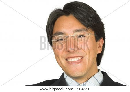 Business Man Smiling - Andres