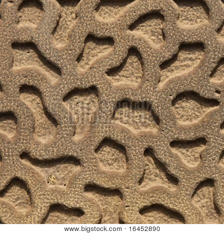 Stock Photo: Patterned stone background