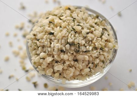 Hemp seeds - natural and nutritious dietary supplement suitable for vegans, vegetarians, raw foodists and allergy sufferers