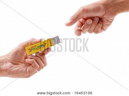 Electric Shocking Gum Prank
