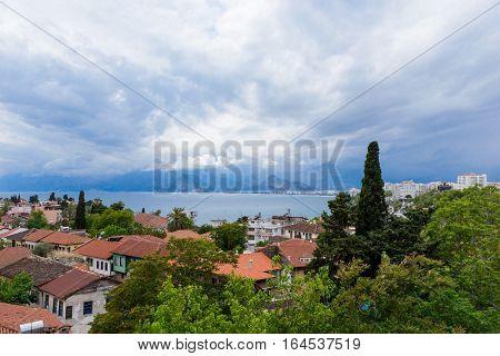 Kulesi district Antalya city center Turkey country