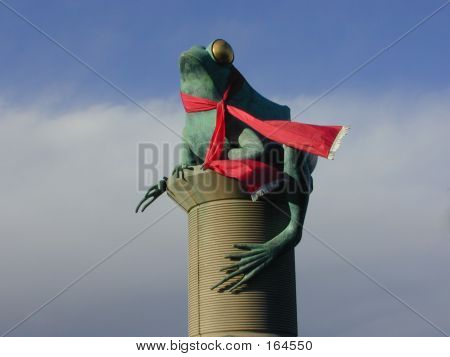 Willimantic Christmas Frog