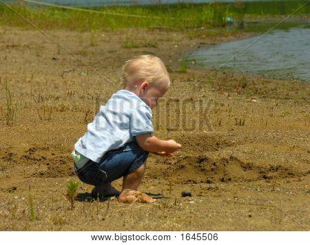 Busy Beach Boy