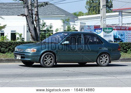 Private Old Car, Toyota Corolla.