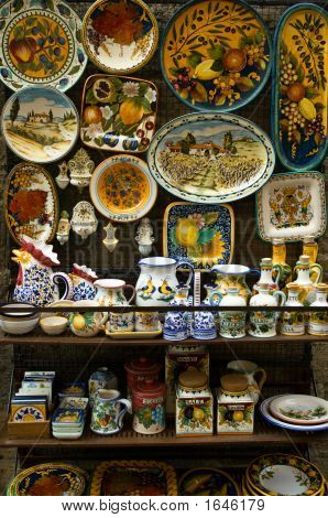 Majolica Ceramics