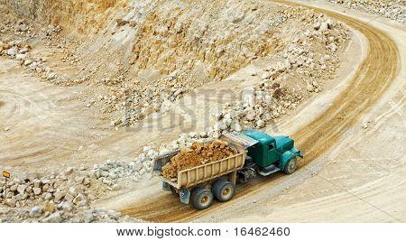 Minas de dolomita