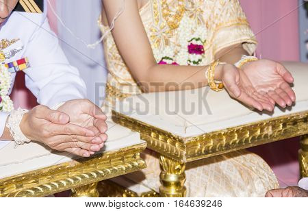 thai wedding culture of loves people thailand