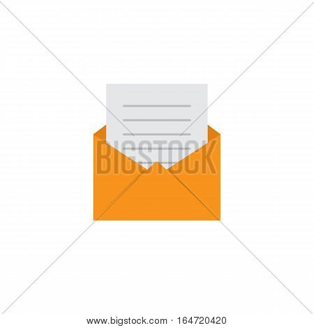 Message Icon, read a message illustration vector