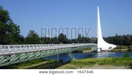 Sundial Bridge At Turtle Bay Exploration Park