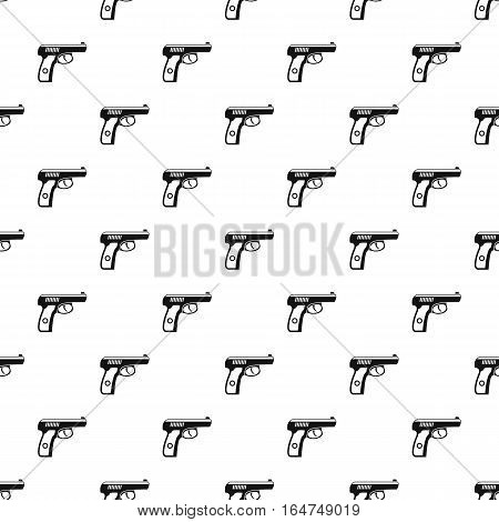 Gun pattern. Simple illustration of gun vector pattern for web
