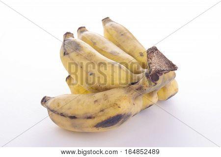 View Cutting Ripe Banana