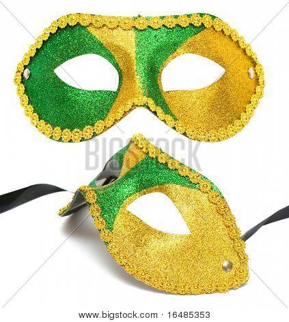 masquerade mask isolated on white background