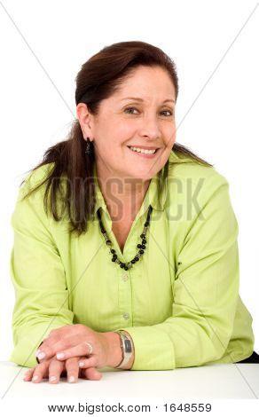 Senior Business Woman Portrait