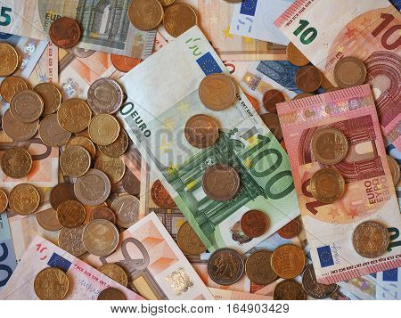 Euro (eur) Notes And Coins, European Union (eu)