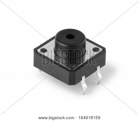 Electronic Pushbutton Switch for PCB installation Macro